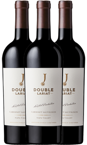 2015 Double Lariat Napa Valley Cabernet Sauvignon Trio (3 bottles)