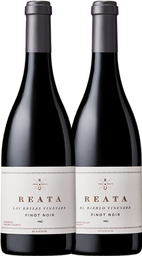 SPECIAL OFFER - 2015 Reata Las Brisas & El Diablo Vineyard Pinot Noir Mixed Case (12 BOTTLES) Image