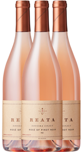 Collection - 2017 Reata Sonoma Coast Rosé of Pinot Noir (3 bottles) Image