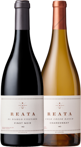 Single Vineyard Sonoma Pinot Noir and Chardonnay (2 Bottles) Image